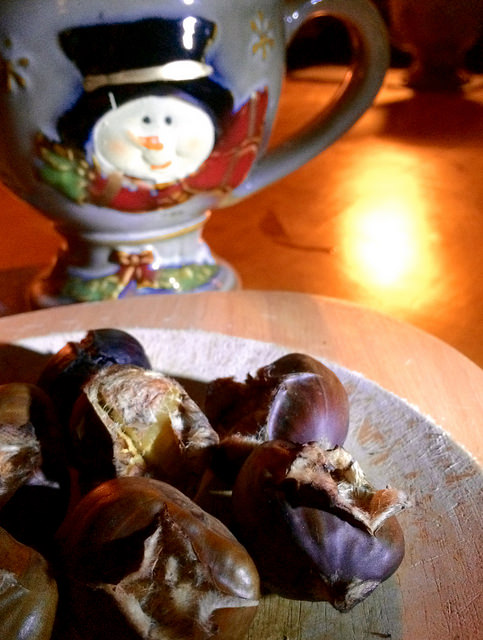 chestnuts and cocoa